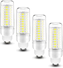 GU10 LED Corn Light Bulb 10W Cool White 6000K 1000LM Bulbs Equivalent GU10 100W, AC 220-240V, GU10 Candelabra Light Bulb, ...