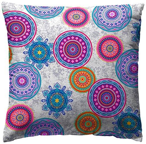 Martina Home - Funda de cojin MIKONOS, color LILA, medida 50 x 50 cm.