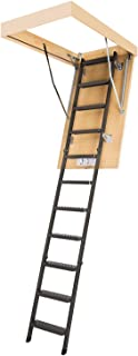 FAKRO LMS 66865 Insulated Steel Attic Ladder for 22-Inch x 47-Inch Rough Openings