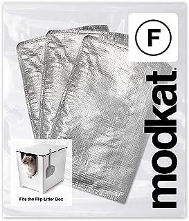 Modkat Flip Katzentoilettenauskleidung (Type F) – 3 Pack