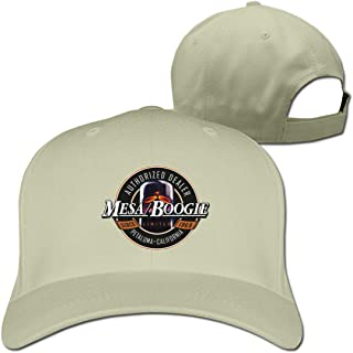 Yearzimn Unisex Trucker Hat Cool Mesa Boogie Design Adjustable Men's&Women Washed Caps
