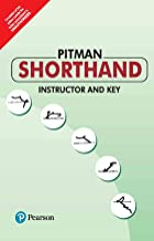 PITMAN SHORTHAND INSTRUCTOR & KEY | First Edition | By Pearson