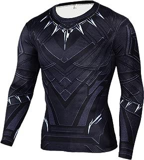 Panther Shirt Compression Sports Shirt Quick Dry Fitness Running Gym Shirt Cosplay Shirt