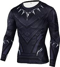 Cosfunmax Thanos Shirt Super Hero Compression Sports Shirt Men's Fitness Tee Gym Tank Top XXL