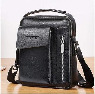 DFV mobile - Bag Leather Waist Shoulder bag compatible with Ebook, Tablet and for Hisense Infinity H40 Rock - Black