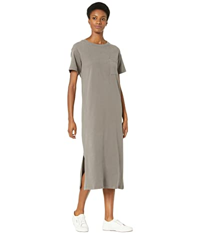 Madewell Oversized Pocket Tee Dress in Sueded Cotton