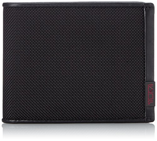 Tumi Alpha ID Lock Global Wallet with Coin Pocket, Black - 0119237DID