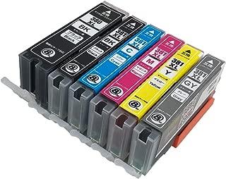 キャノン用(CANON) BCI-381XL(BK/C/M/Y/GY)+BCI-380XLBK【全色大容量、純正より40%増量】 6色セット 互換インクカートリッジ 【6色マルチパック BCI-381+380/6MP】 ISO14001/ISO9001/STMC認証工場生産安心商品 残量表示付き 最新ICチップ付 日本国内検品済み 説明書付き【PAI MU TAN製】対応機種:キヤノン Canon PIXUS TS8130 TS8230