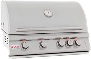 Blaze Built-In Grill with Lights (BLZ-4LTE2-LP), 32-inch, Propane Gas