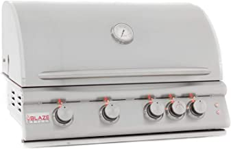 Blaze Built-In Grill with Lights (BLZ-4LTE2-NG), 32-inch, Natural Gas
