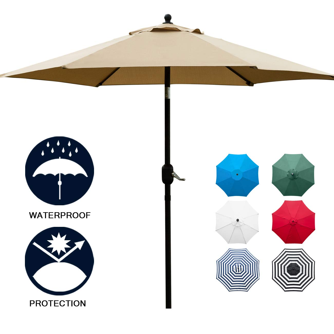 Sunnyglade Umbrella Outdoor Market Button