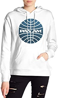 VJJ AIDEAR Pan Am Women's Sweater Printed Hoodied Long Sleeve Coat