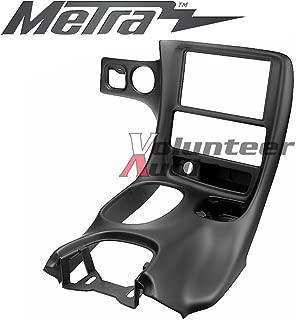 Metra DP-3021B Black Double Din Stereo Dash Kit for 1997-2004 Chevrolet Corvette