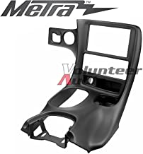 Metra DP-3021B Black Double Din Stereo Dash Kit for 1997-2004 Chevrolet Corvette