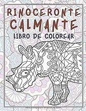 Rinoceronte Calmante - Libro de colorear (Spanish Edition)