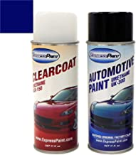 ExpressPaint Aerosol - Automotive Touch-up Paint for Honda Accord - Obsidian Blue Pearl B588P - Color + Clearcoat Package