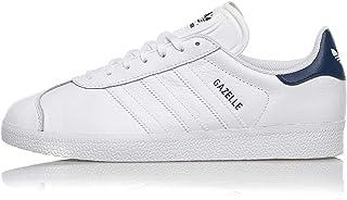 Adidas Gazelle Leather FU9487 White Dark Blue (US 8 - Bianco)