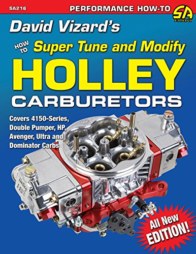 David Vizard's Holley Carburetors: How to Super Tune and Modify (Performance How-To) (English Edition)