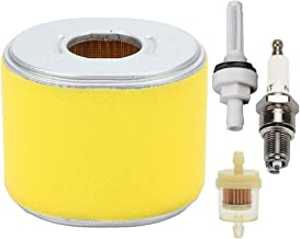 Hayskill 17210-ZE3-505 Air Filter for Honda GX240 GX270 GX340 GX390 11HP 13HP Engines Equipped Replace 17210-ZE3-010 17210-ZE3-515 with Fuel Filter Spark Plug