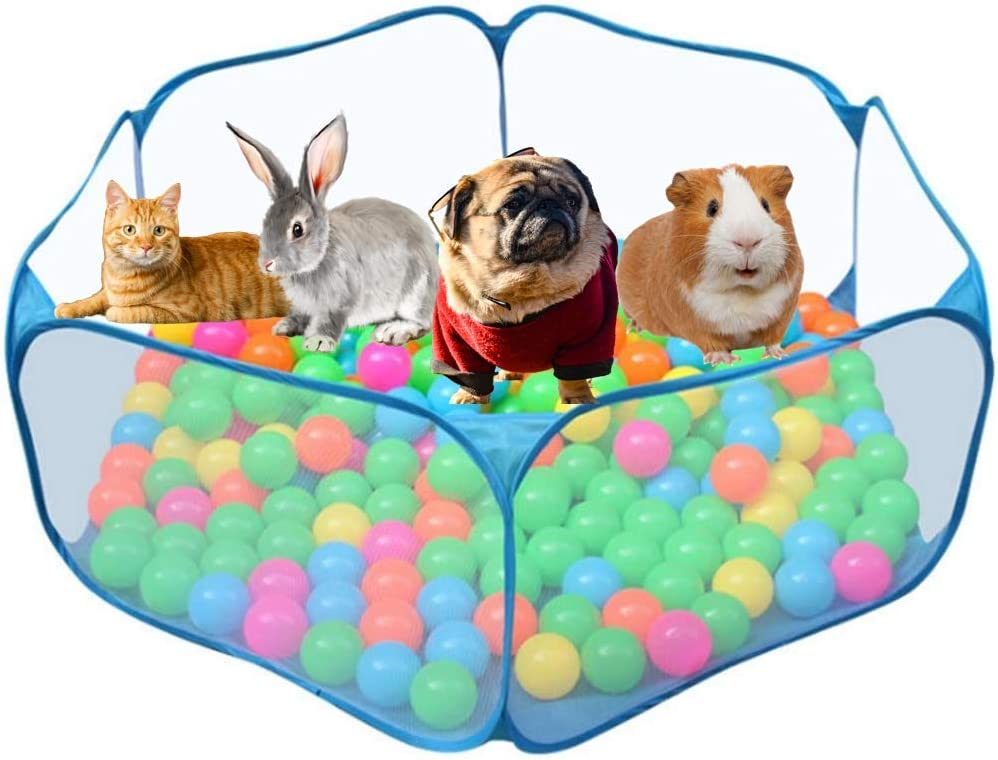 Orangelight Pet Popular shop is the lowest price challenge Playpen Small Animal Tent Exercise Max 77% OFF Cage Foldable