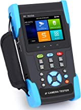 Wsdcam 7 Inch IP Camera Tester CCTV Camera Tester CVBS Analog POE Camera Tester with POE/WIFI/4K H.265/HDMI Output/RJ45 TD...