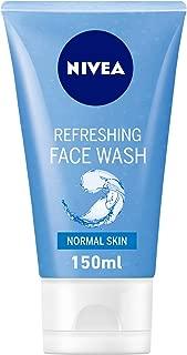 NIVEA, Face Wash, Refreshing, Normal Skin, 150ml