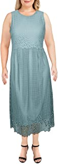 Alfani Lace MIDI Dress- Precious Jade Size 16