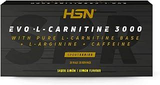 EVO L-CARNITINE 3000 20 vials | Liquid L-Carnitine | single-dose vials. With caffeine, L-arginine and vitamin B6. (Lemon)