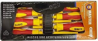 Screwdriver Set Vde 7 Pieces - Master (mt-10910)