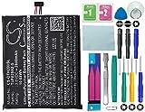 Batería de CS para Alcatel One Touch Idol 3 5.5, One Touch Pixi 3 5.5, One Touch Pixi 3 5.5 3G, de 2800mAh, sustituye a la batería Alcatel TLP029AJ, con 14 herramientas