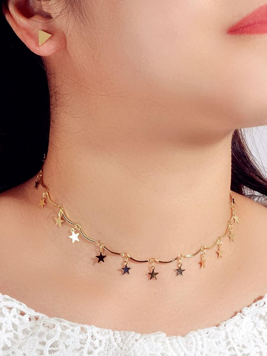 ZHAWE Women's Challenge the lowest price Jewelry Set Max 78% OFF Series Geo S 3pcs Star Decor