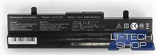 LI-TECH Batería Compatible Negra para ASUS EEEPC EEE PC EEPC 1005PXD-BLK02 48 WH Notebook