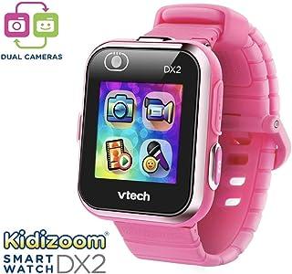 VTech Kidizoom DX2 Smartwatch キディズームDX2 スマートウォッチ, カメラ,マイクロフォン付 (限定色ピンク) [並行輸入品]