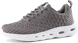 ZLYZS Zapatos para Correr para Mujer, Zapatillas De Gimnasia Transpirables De Malla De Punto para Caminar Zapatillas De De...