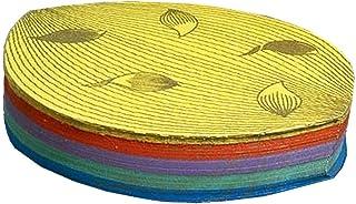 散華(さんげ) 4号 散り蓮柄 5色 100枚入り