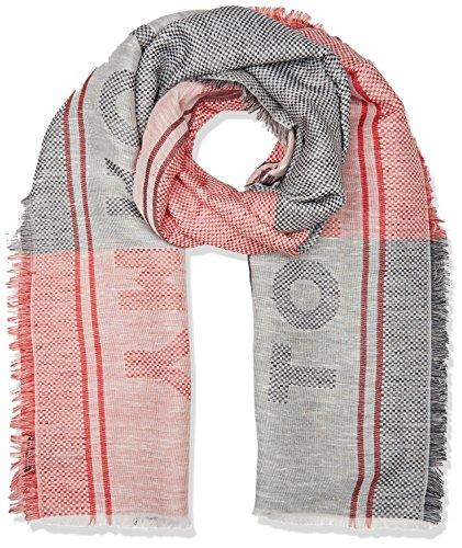 Tommy Hilfiger dames TOMMY STARS WOVEN SCARF sjaal, zwart (Corporate 901), één maat (fabrikantmaat: OS)
