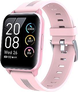 1.69 in Smart Horloge Voor Vrouwen 2021 Y79T IP68 Waterdichte Heren Sport Smartwatch Woman Heart Rate Fitness Tracker Dame...