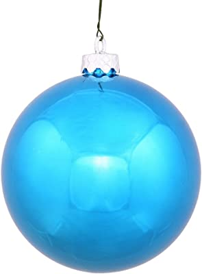 Vickerman Ball Ornament, 60mm, Turquoise