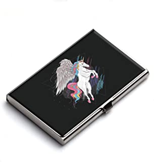 Heartzy Unicorn Business Card Holder (Multicolor) | Best for Gifting