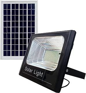 كشاف طاقة شمسية أضاءه  ليد بيضاء 150 واط ضد الماء بريموت تحكم يعمل تلقائيا طوال الليل