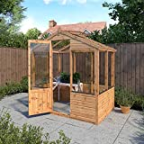 Waltons 4 x 6ft Evesham Wooden Greenhouse