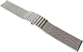 20mm Polished Mesh 150mm Steel Watch Band Model 2792
