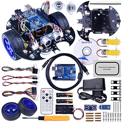 Robot Arduino, Quimat Coche Robótica con Tutorial de Vídeo en Castel
