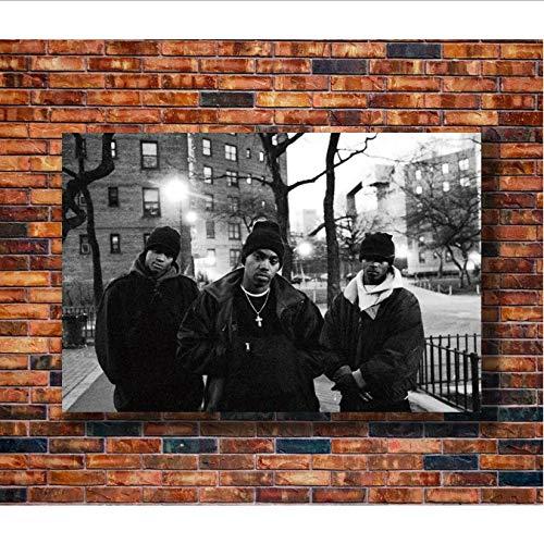 yhnjikl Carteles e Impresiones Hot NAS Time Is Illmatic Hip Hop Art Poster Pintura de la Lona Decoración para el hogar 40X60Cm Sin Marco