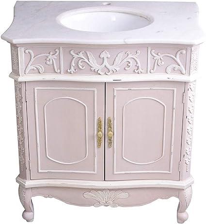 Palazzo Floor Unit Washbasin Cabinet Rococo Bathroom Cabinet Antique Country House Bathroom Frf099 Exclusive Amazon De Home Kitchen