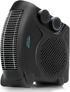 Cecotec Calefactor Ready Warm 9700 Dual. Apto para Uso en Vertical y Horizontal, 3 Modos, Termostato Regulable, Protección sobrecalentamiento, Antihelada, Sensor Antivuelco, 2000 W