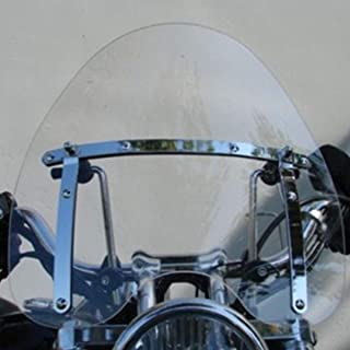 Clear Windscreen Windshield For Harley Davidson Dyna Softail Sportster Road King