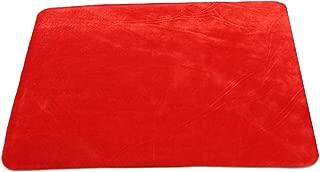 kingmagic Card Mat (Red, 41W32L) Close Up Magic Accessory Card Magic Poker Magic Tool