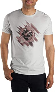 Mens Rocket Raccoon Shirt Short Sleeve Avengers Mens Clothing