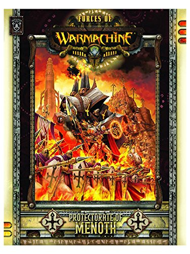 PIP1027 WARMACHINE: PROTECTORATE OF MENOTH SOFT COVER